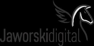 Jaworski Digital Wrocław Logo Grey