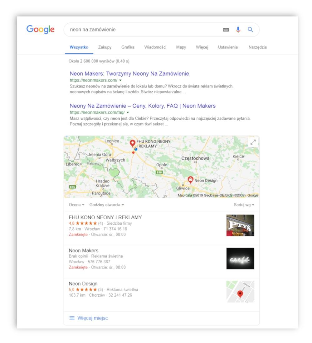 Neonmakers projekt google