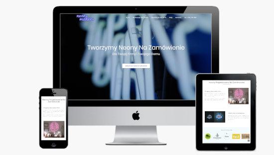Neonmakers projekt wyróżniony