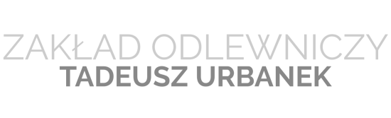 Odlewnia Urbanek projekt logo szare