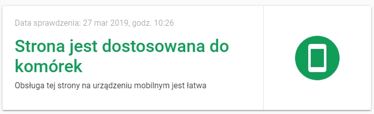 Pozycjonowanie stron Google Mobile