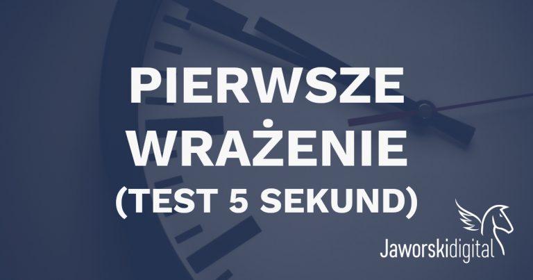 Test 5 sekund