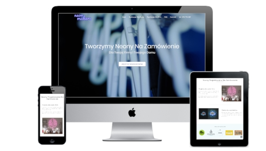 Pozycjonowanie stron internetowych - Neon Makers - miniatura